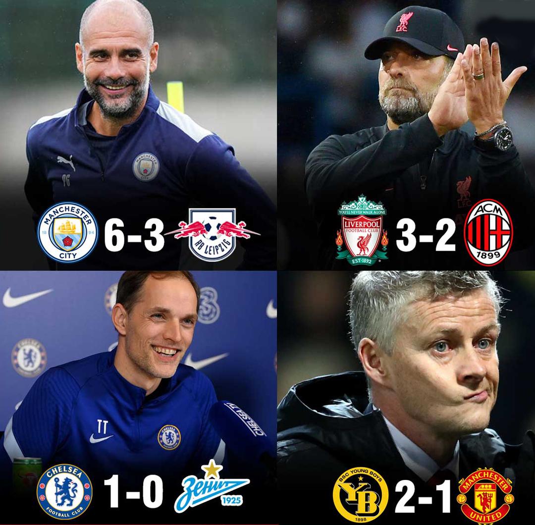 Man Utd cũng là đội bóng Anh duy nhất thất bại trong trận mở màn ở Champions League.