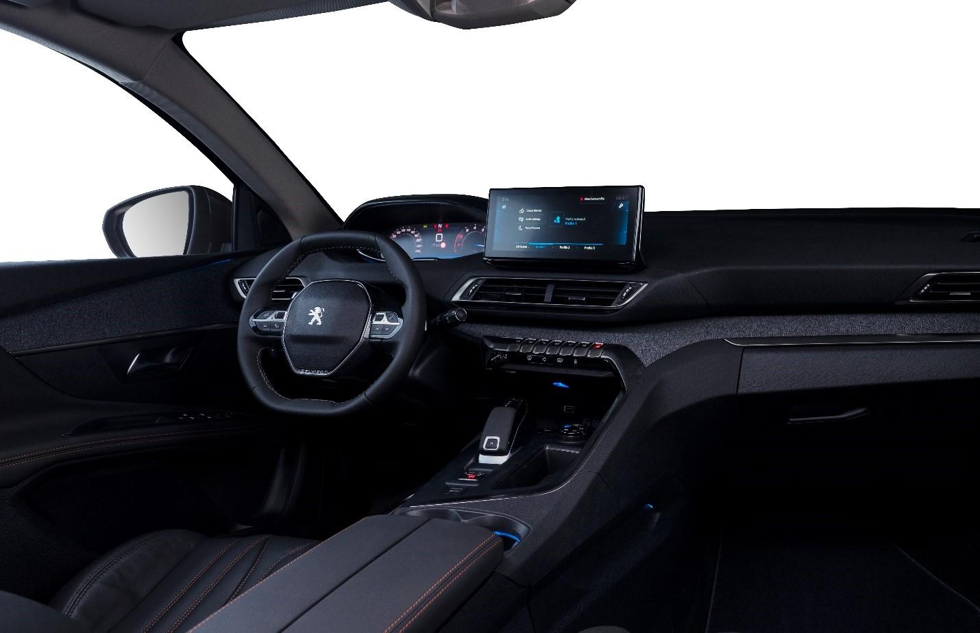 Nội thất Peugeot 3008 2021.