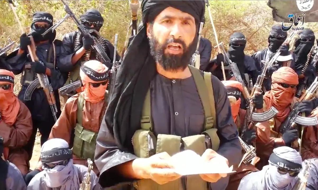 Adnan Abu Walid al-Sahrawi, thủ lĩnh của IS ở Sahel, Tây Phi. Ảnh: The Australian