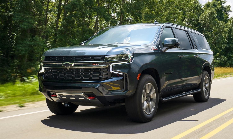 Chevrolet Suburban 2021 phiên bản thường. Ảnh: Chevrolet