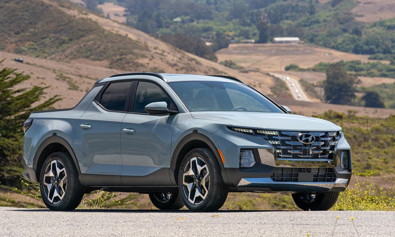 Santa Cruz tại Mỹ. Ảnh: Hyundai