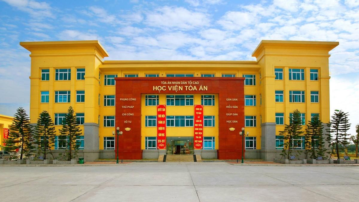 Học viện Tòa án. Ảnh: Fanpage nhà trường
