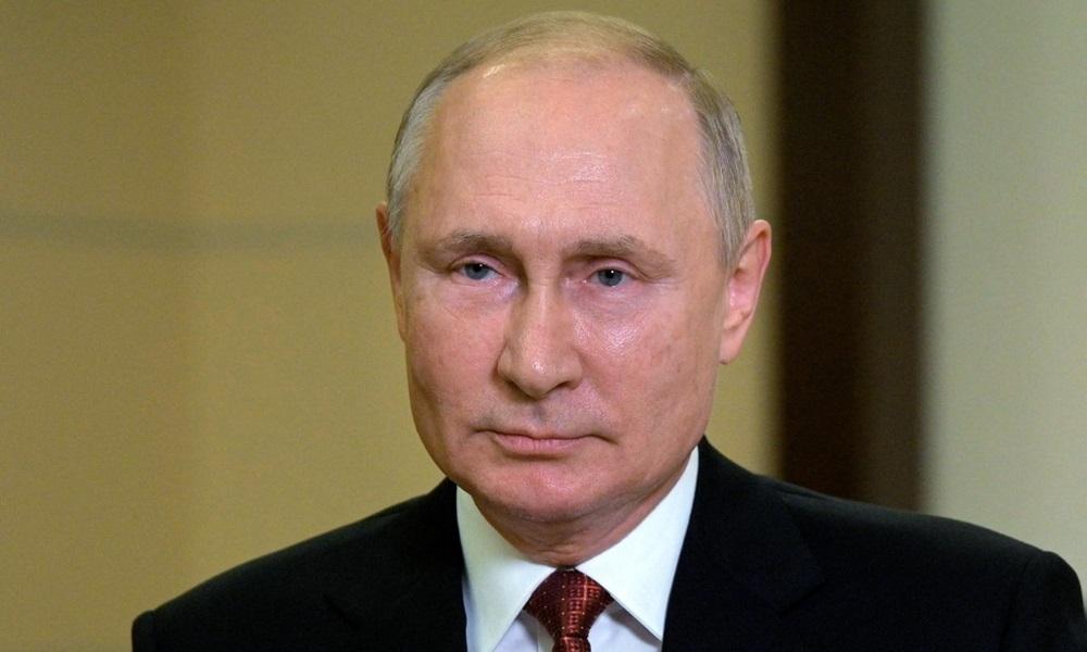 Tổng thống Nga Vladimir Putin phát biểu trước cuộc bầu cử quốc hội Nga tại dinh thự ở ngoại ô Moskva hôm 15/9. Ảnh: AFP.
