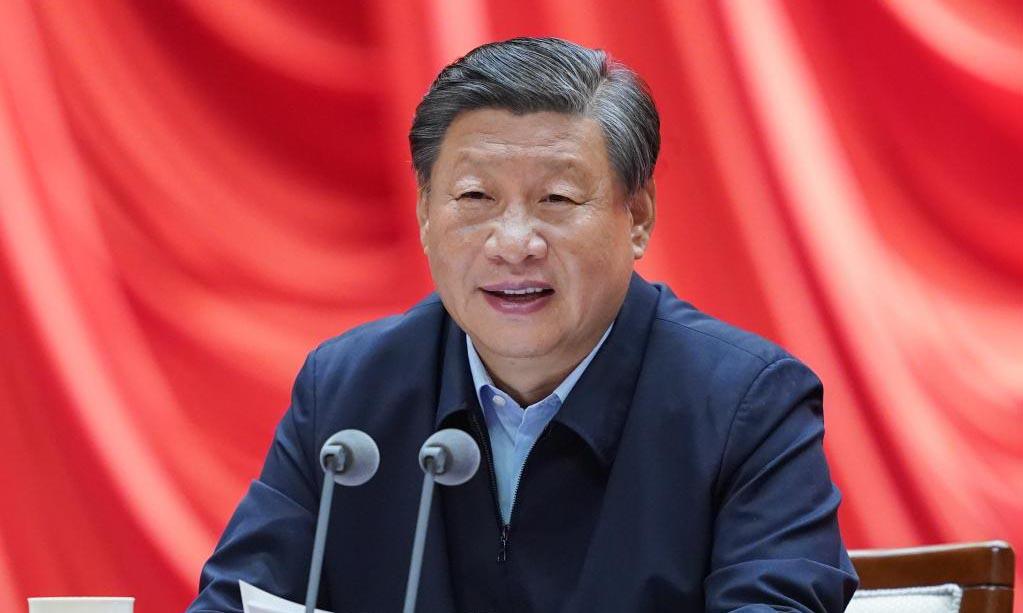 Chủ tịch Trung Quốc Tập Cận Bình phát biểu trong lễ khai giảng tại trường đảng thuộc Học viện Hành chính Quốc gia ở Bắc Kinh hôm 1/9. Ảnh: Xinhua.