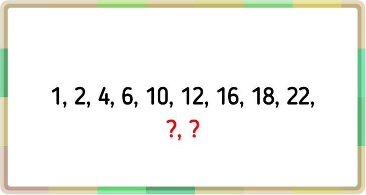 Tìm quy luật dãy số trong 30 giây