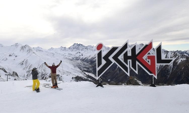 Một địa điểm trượt tuyết tại thị trấn Ischgl, Áo. Ảnh: Dhnet.