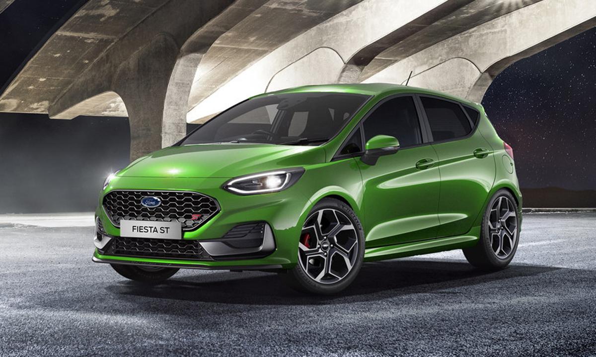 Hãng xe Mỹ giới thiệu Fiesta bản nâng cấp. Ảnh: Ford