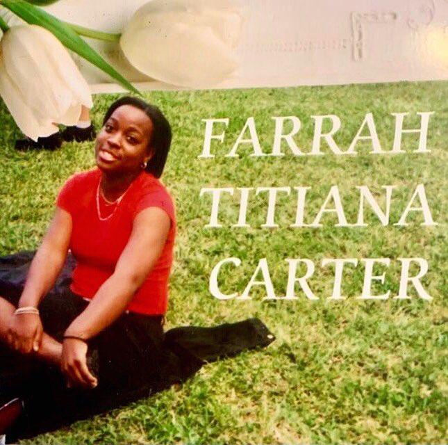 Ảnh tưởng niệm Farrah Carter được văn phòng cảnh sát Miramar chia sẻ trên tài khoản Twitter chính thức. Ảnh: Twitter MiramarPD