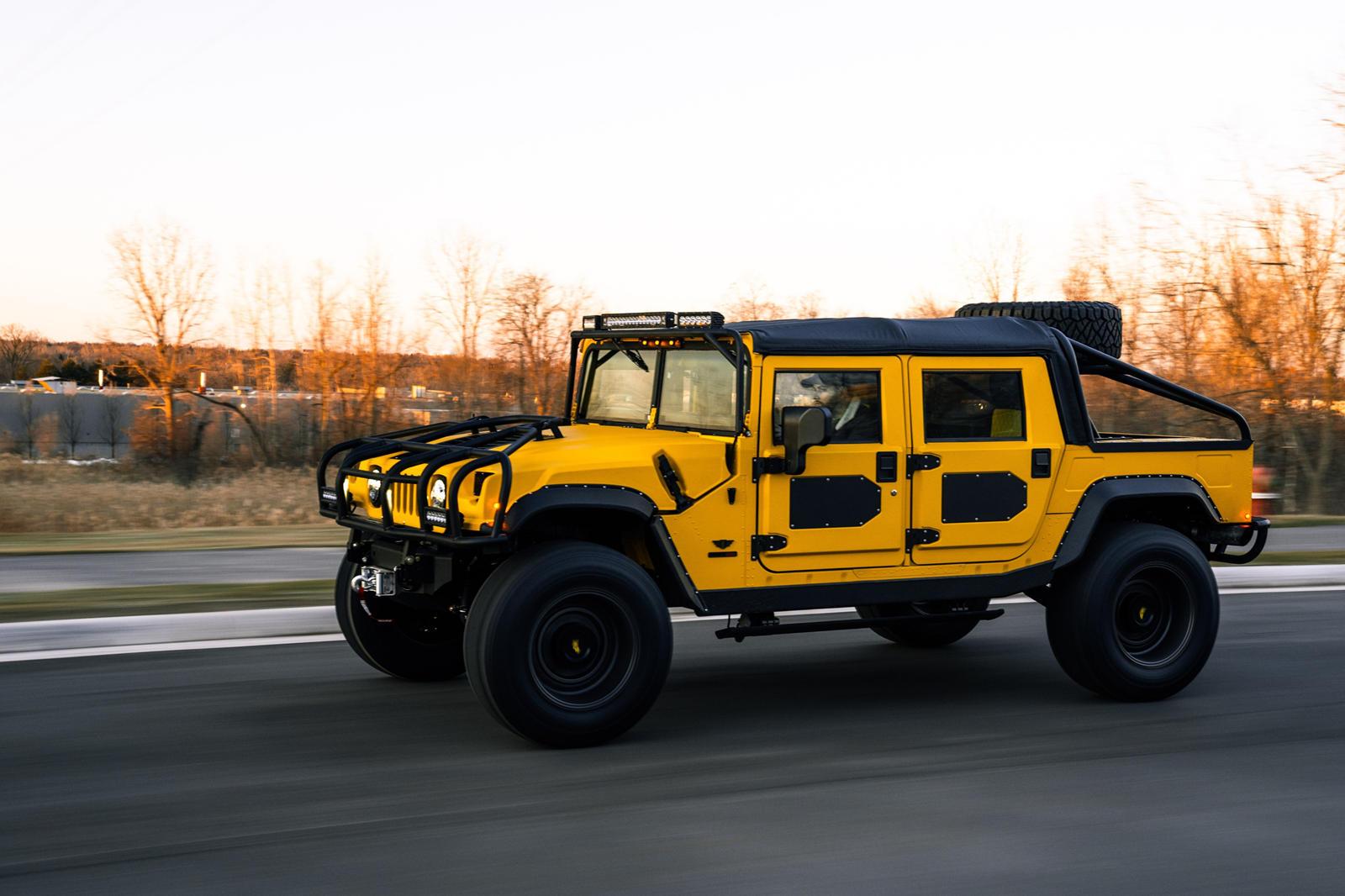 Hummer H1. Ảnh: Mil-Spec Automotive