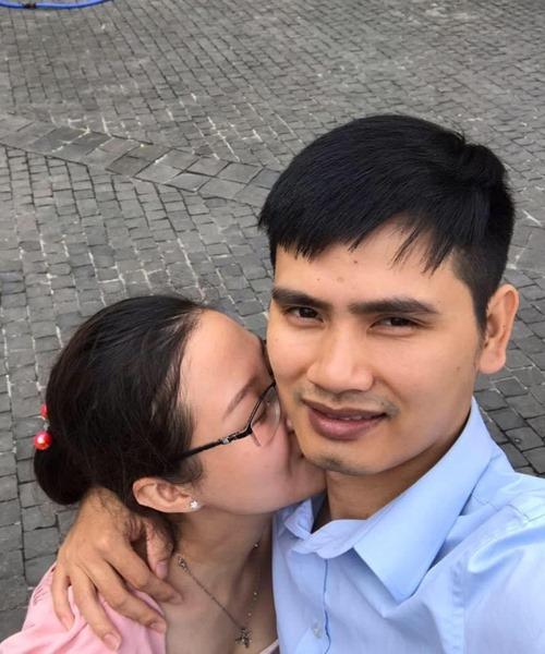 Vợ chồng anh Luân chụp ảnh năm 2019. Ảnh: Nhân vật cung cấp