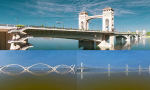 Ba phương án kiến trúc cầu Trần Hưng Đạo