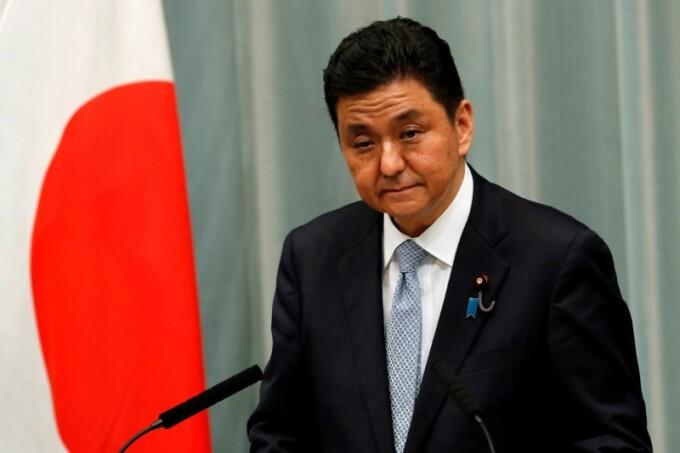 Bộ trưởng Quốc phòng Nhật Bản Nobuo Kishi tại Tokyo hồi tháng 9/2020. Ảnh: Reuters.