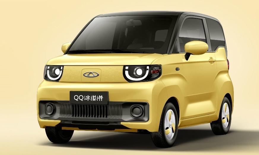 QQ Ice Cream có thiết kế hình hộp giống phong cách kei-car. Ảnh: Chery