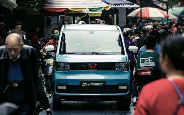 Chiếc xe điện cỡ nhỏ hướng tới khách hàng trẻ và gia đình có con nhỏ tại các đô thị đông đúc. Ảnh: Wulling