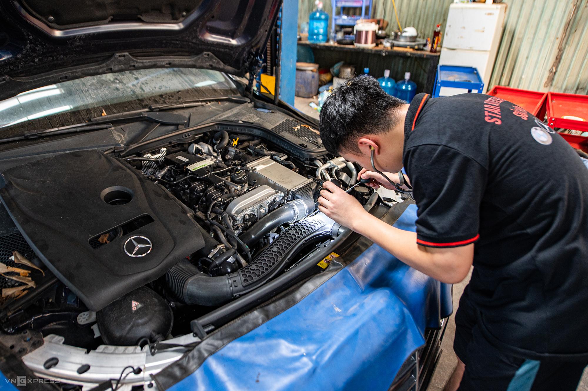 Ôtô để lâu ngày bị hỏng gì, sửa thế nào