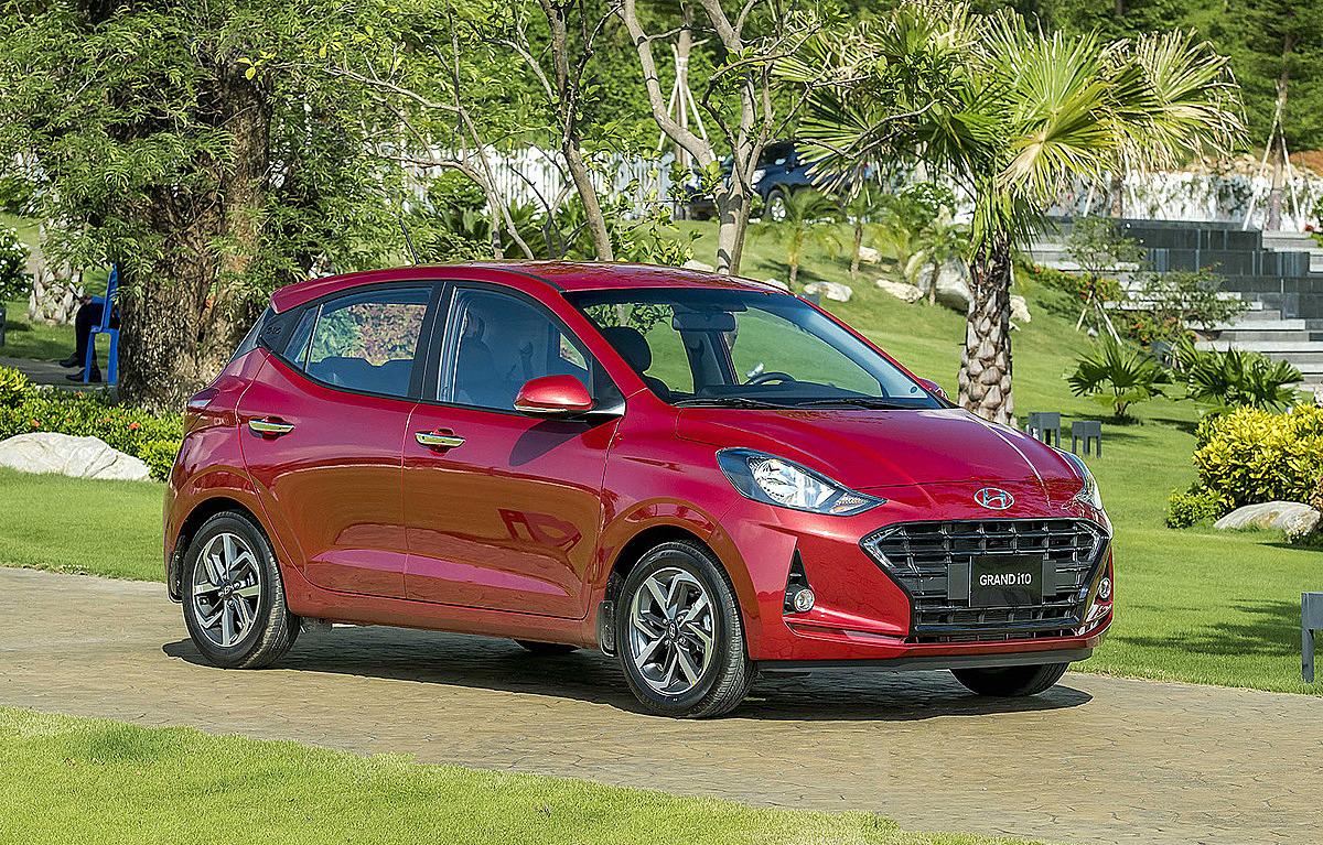 Hyundai i10, mẫu hatchback đô thị cỡ A thương hiệu Hàn lắp ráp tại Ninh Bình. Ảnh: TC Motor