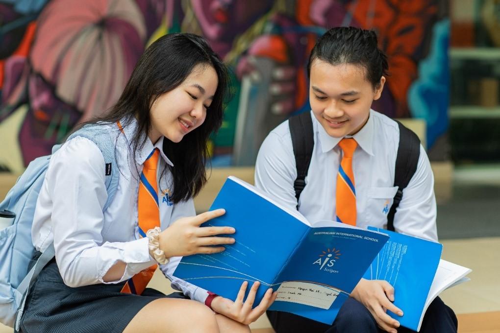 Học sinh Việt Nam và quốc tế học học tập tại trường Quốc tế Úc.