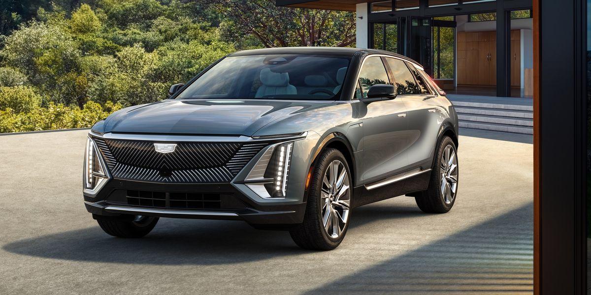 Mẫu CUV chạy điện hạng sang Lyriq tại Mỹ. Ảnh: Cadillac