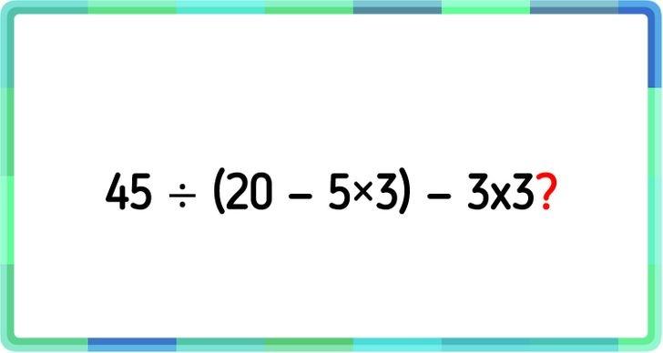 Thử thách suy luận với bốn câu đố - 2