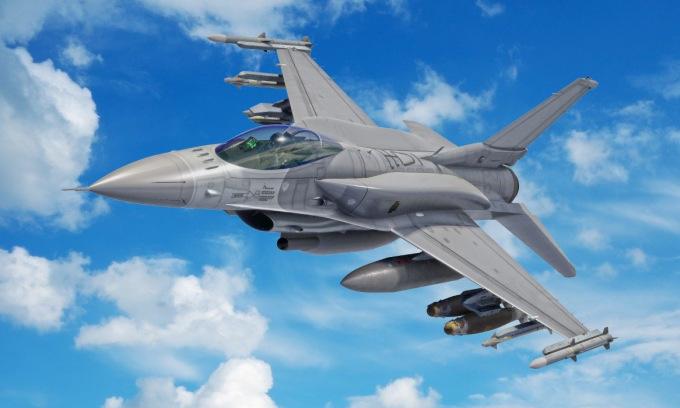Thiết kế tiêm kích F-16 Block 70/72 được Mỹ công bố. Ảnh: Lockheed Martin.