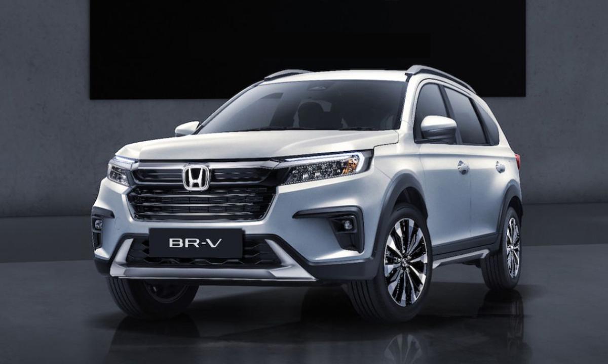 Mẫu SUV thế hệ mới - BR-V 2022 ra mắt tại Indonesia chiều 21/9. Ảnh: Honda