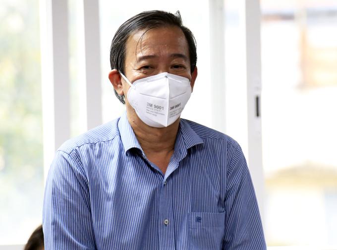 GS. BS Nguyễn Văn Vĩnh Châu, Phó giám đốc Sở Y tế TP HCM. Ảnh: Hữu Công