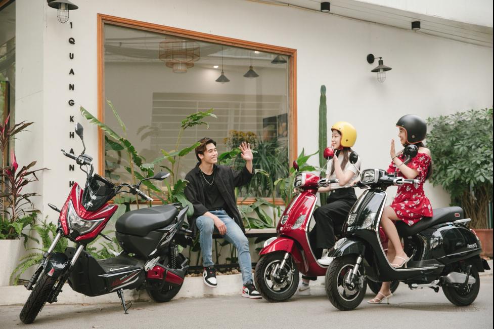 Các mẫu xe máy điện của Dibao phù hợp cho cả nam và nữ