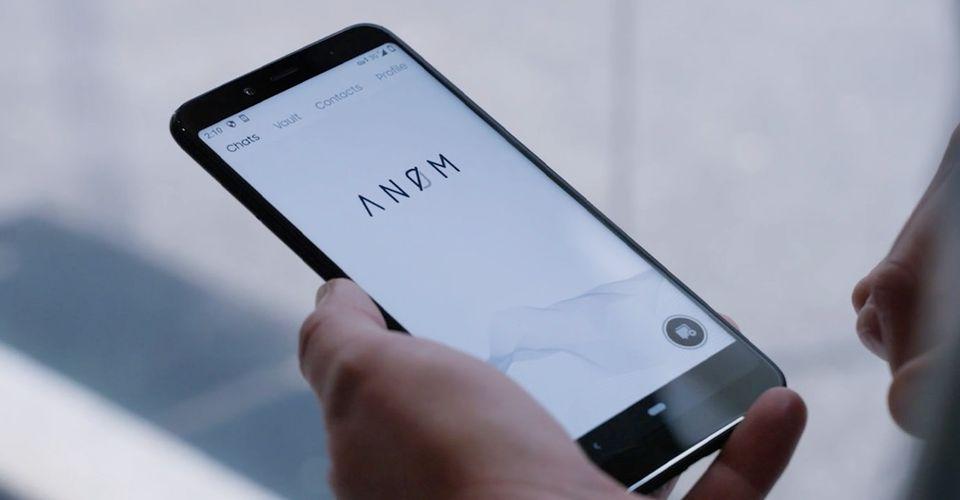 Giao diện của dứng dụng ANOM trên điện thoại thông minh. Ảnh: Screenrant