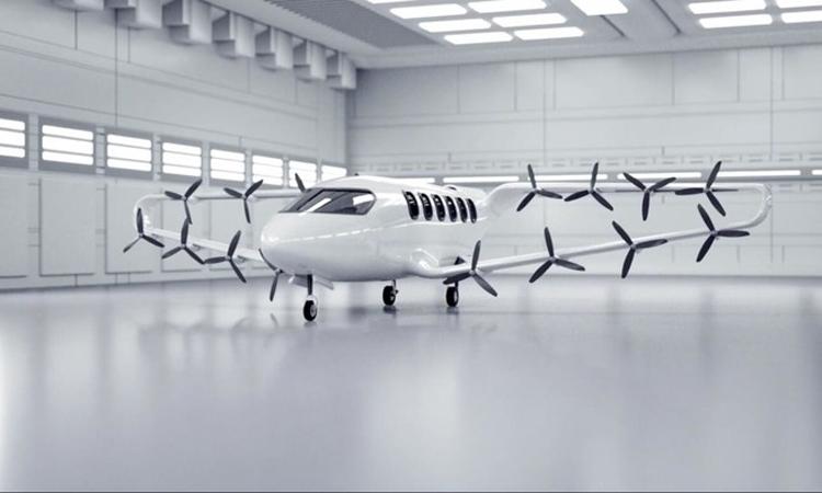 Thiết kế máy bay chở khách của Craft Aerospace. Ảnh: Craft Aerospace