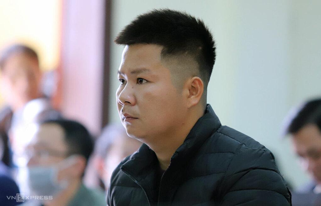 Bị cáo Quỳnh tại phiên tòa sơ thẩm cuối năm 2020. Ảnh: Đức Hùng