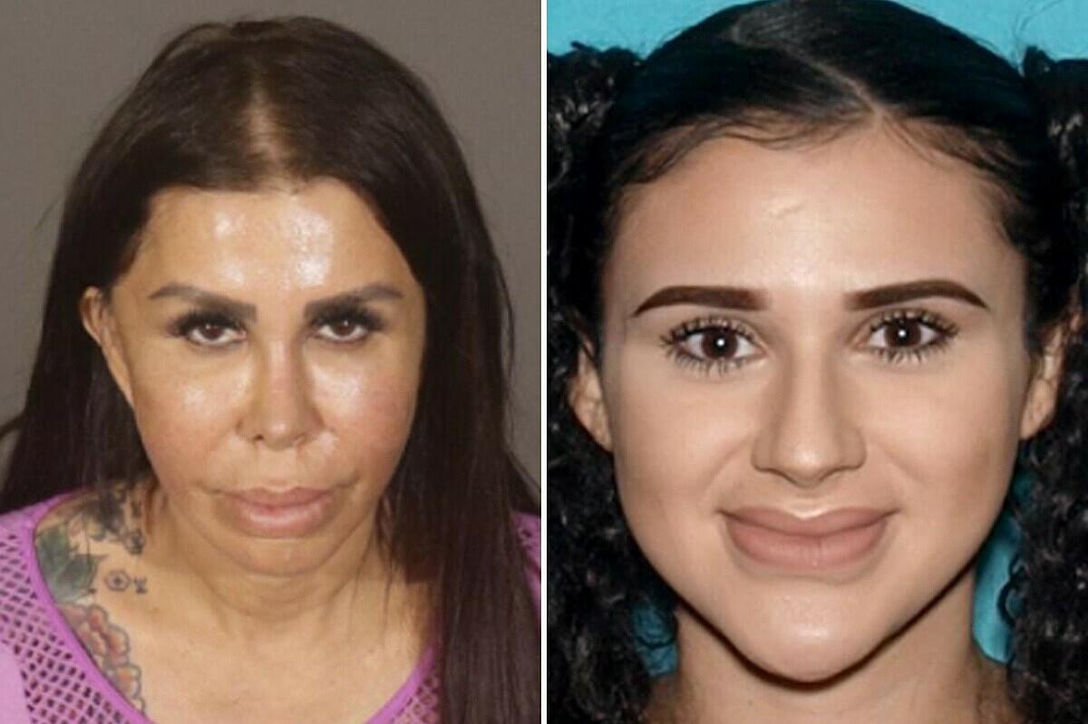 Libby Adame và con gái, Alicia Galaz sẽ hầu toà vì cáo buộc Giết người. Ảnh: Los Angeles Police Department