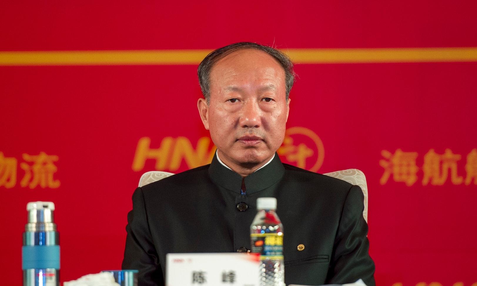 Trần Phong, chủ tịch tập đoàn HNA. Ảnh: Wenweipo