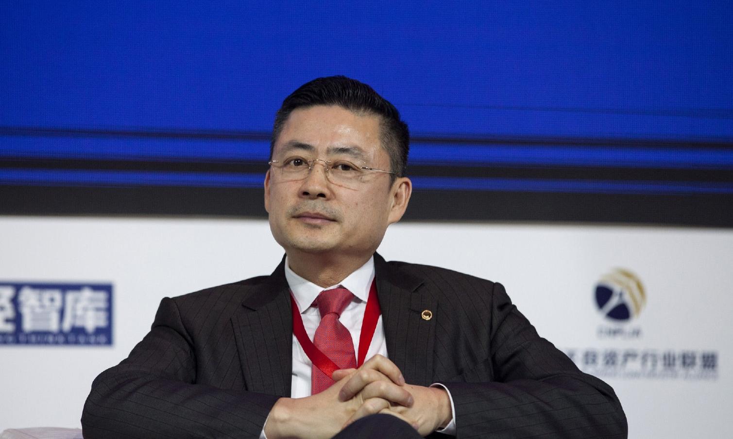 Đàm Hướng Đông, giám đốc điều hành HNA. Ảnh: Wenweipo