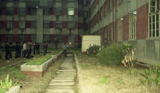 Hiện trường vụ án. Ảnh: Nanjing jingcha