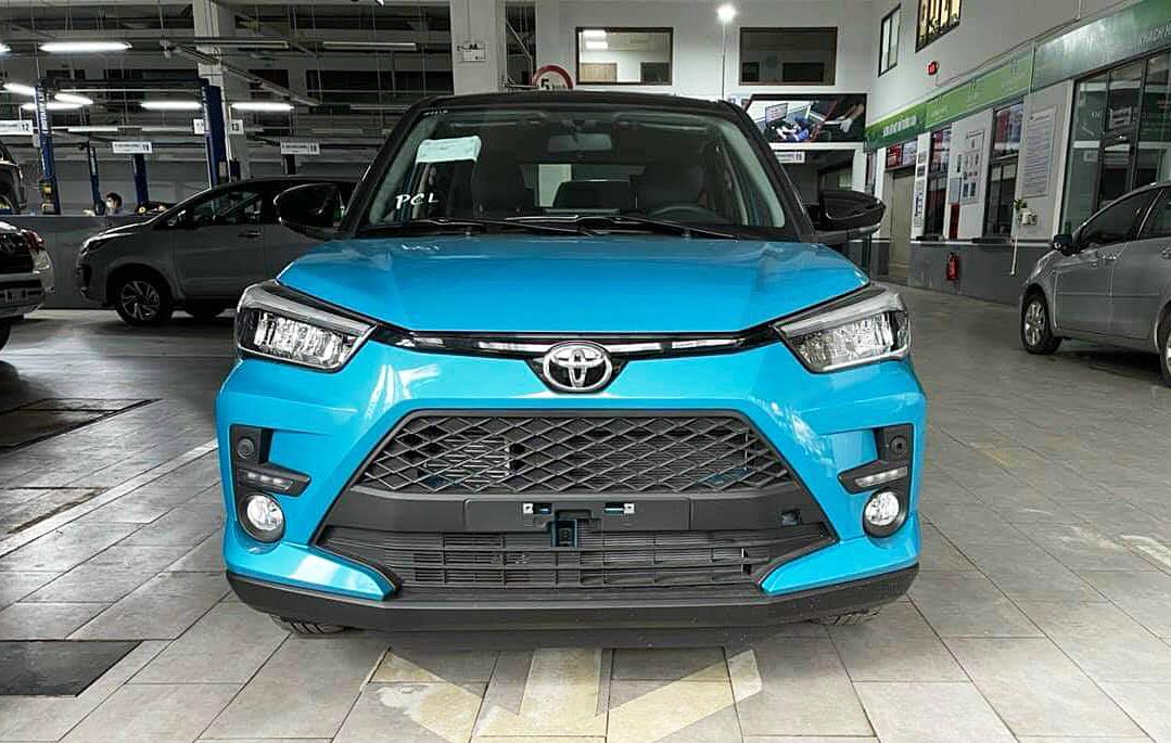Raize tại đại lý của Toyota ở Việt Nam. Ảnh: Facebook/Hội Toyota Raize Việt Nam