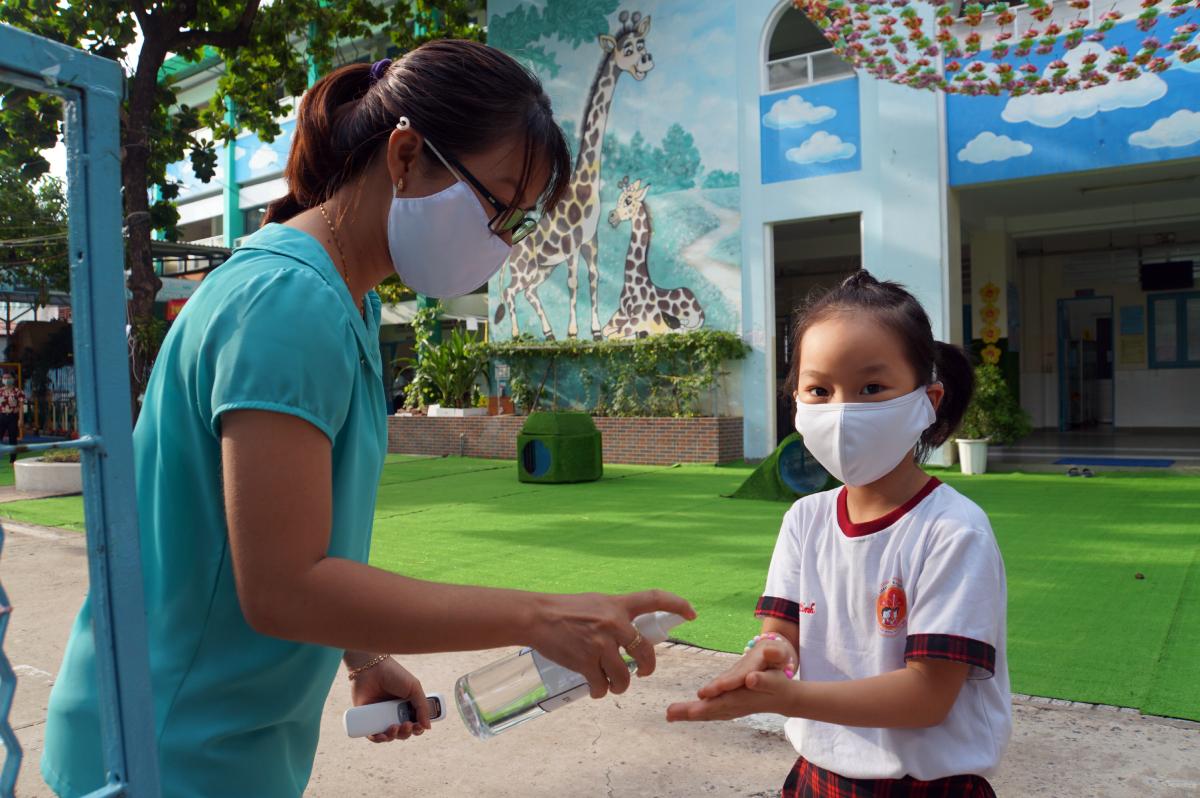 Giáo viên mầm non ở Sài Gòn chật vật mưu sinh