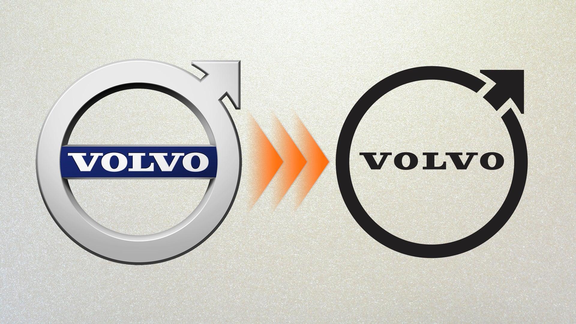 Logo cũ bên trái và logo mới bên phải. Ảnh: The Driver
