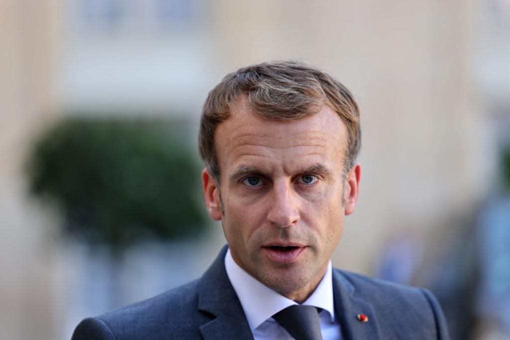Tổng thống Pháp Emmanuel Macron tại Điện Elysee, Paris, ngày 24/9. Ảnh: AFP