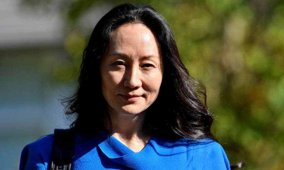 Giám đốc tài chính Huawei Mạnh Vãn Chu đến phiên điều trần ở Vancouver, Canada, hôm 4/8. Ảnh: Reuters.