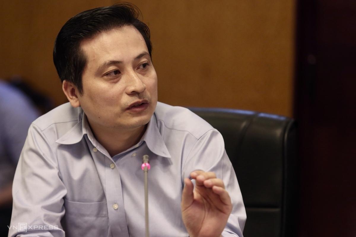 Ông Phan Tuấn Hùng nói về EPR. Ảnh: Gia Chính