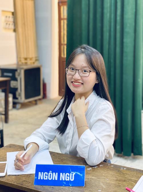 Ngọc hiện là sinh viên năm 3, khoa Ngữ Văn, Đại học Sư phạm 2 Hà Nội. Ảnh: Nhân vật cung cấp