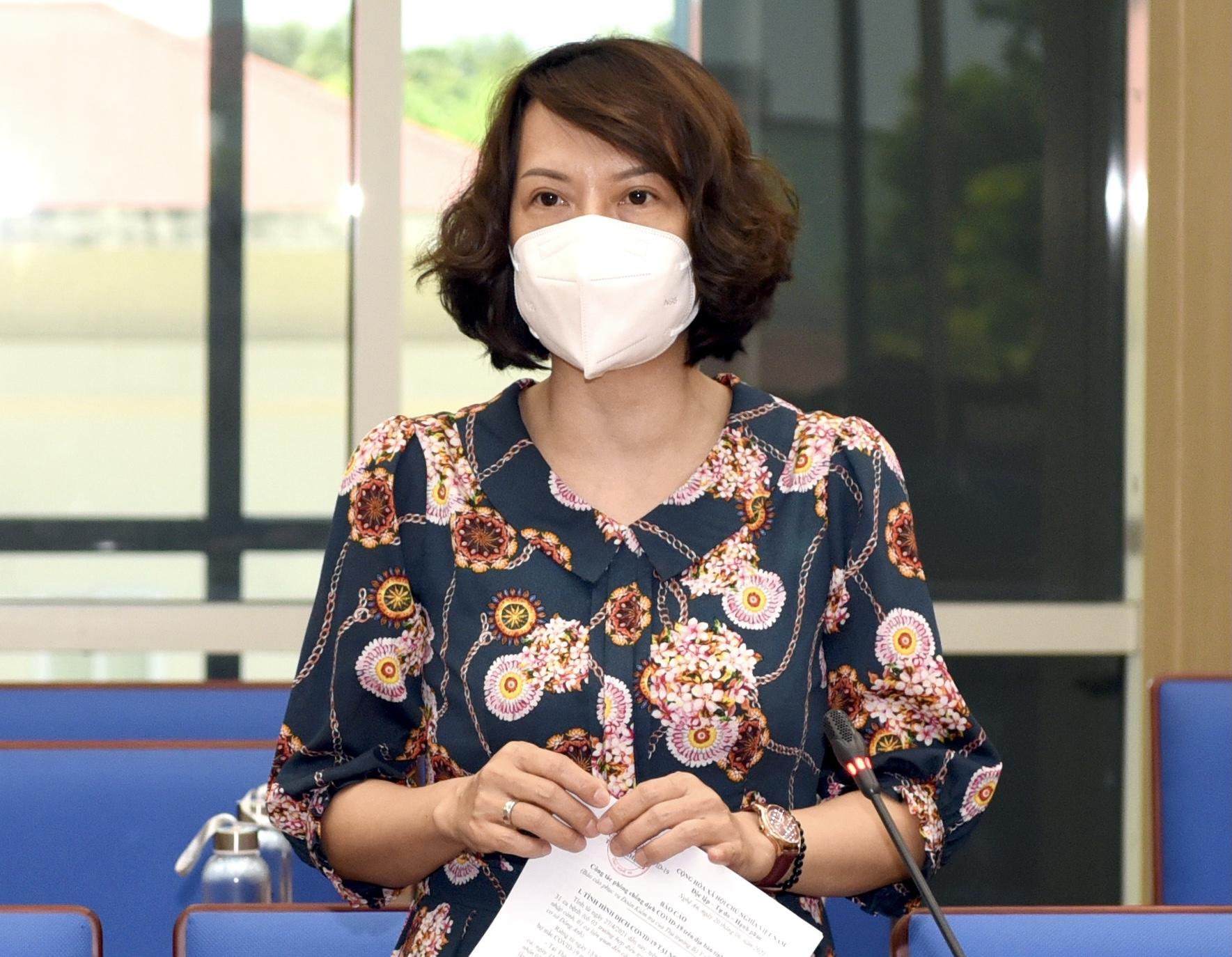 PGS.TS Nguyễn Thị Liên Hương, Cục trưởng Quản lý môi trường y tế, Bộ Y tế. Ảnh: Nhân vật cung cấp
