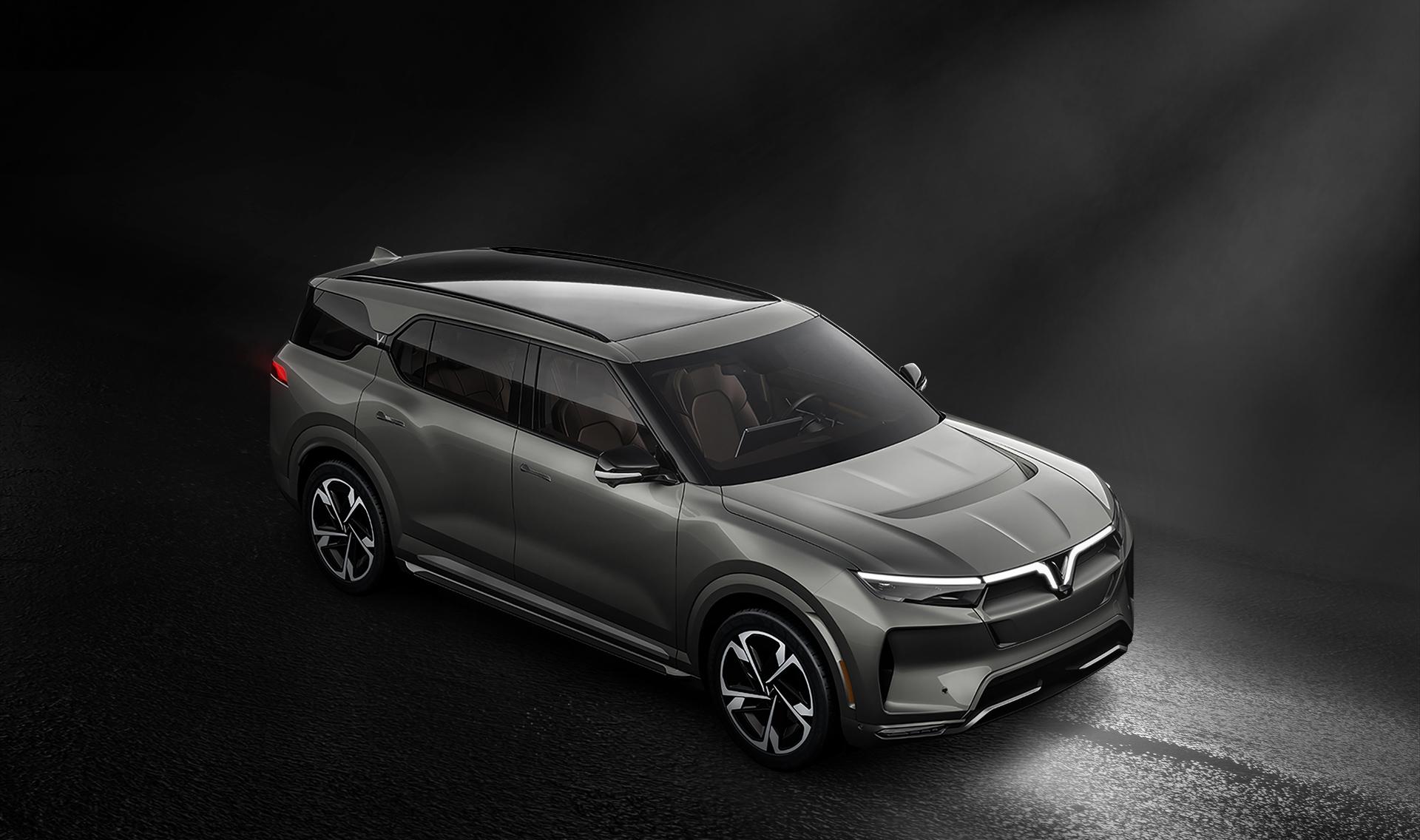 Bản thiết kế của xe điện VinFast VF e36.