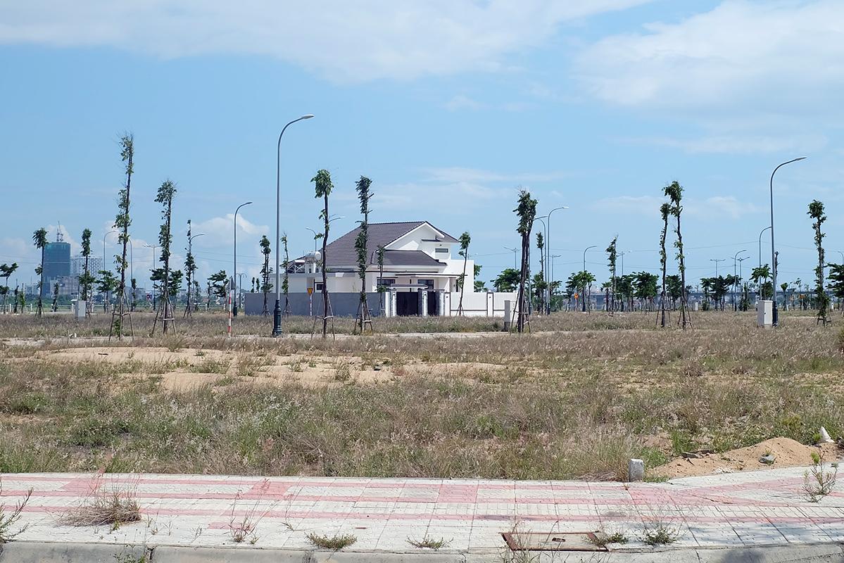 đô thị Nam Tuy Hòa, TP Tuy Hòa, được đưa ra đấu giá. Ảnh: An Phước.