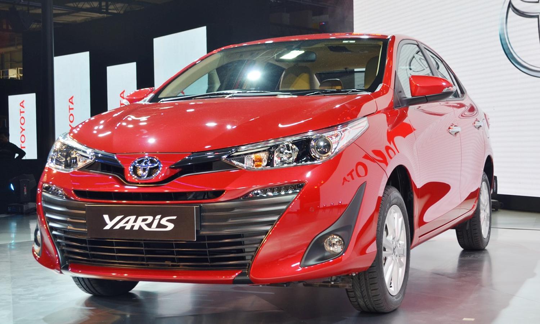 Yaris sedan dừng sản xuất tại Ấn Độ từ ngày 27/9. Ảnh: Indianautoblog