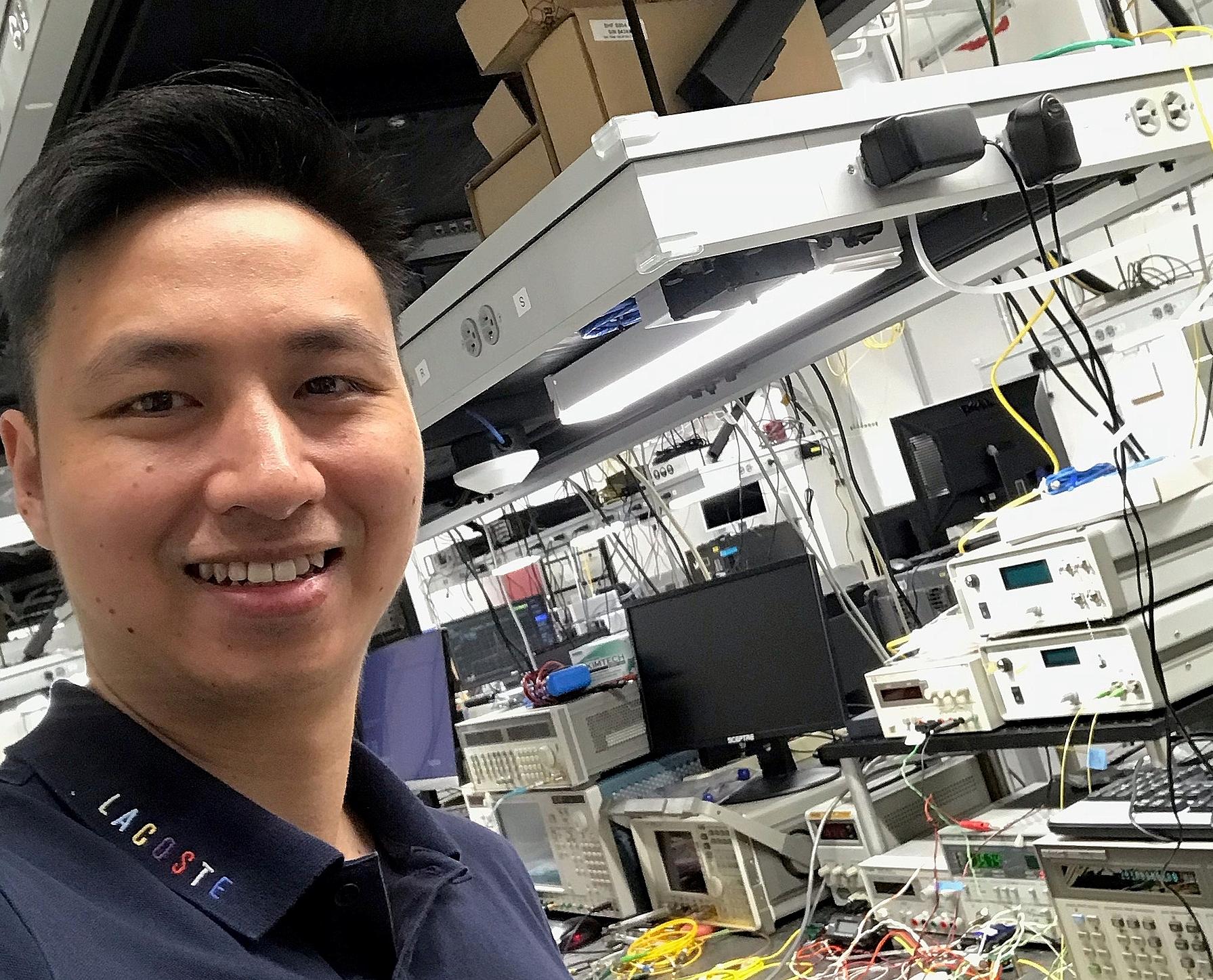 Lê Thái Sơn hiện làm việc tại Nokia Bell Labs (Mỹ).