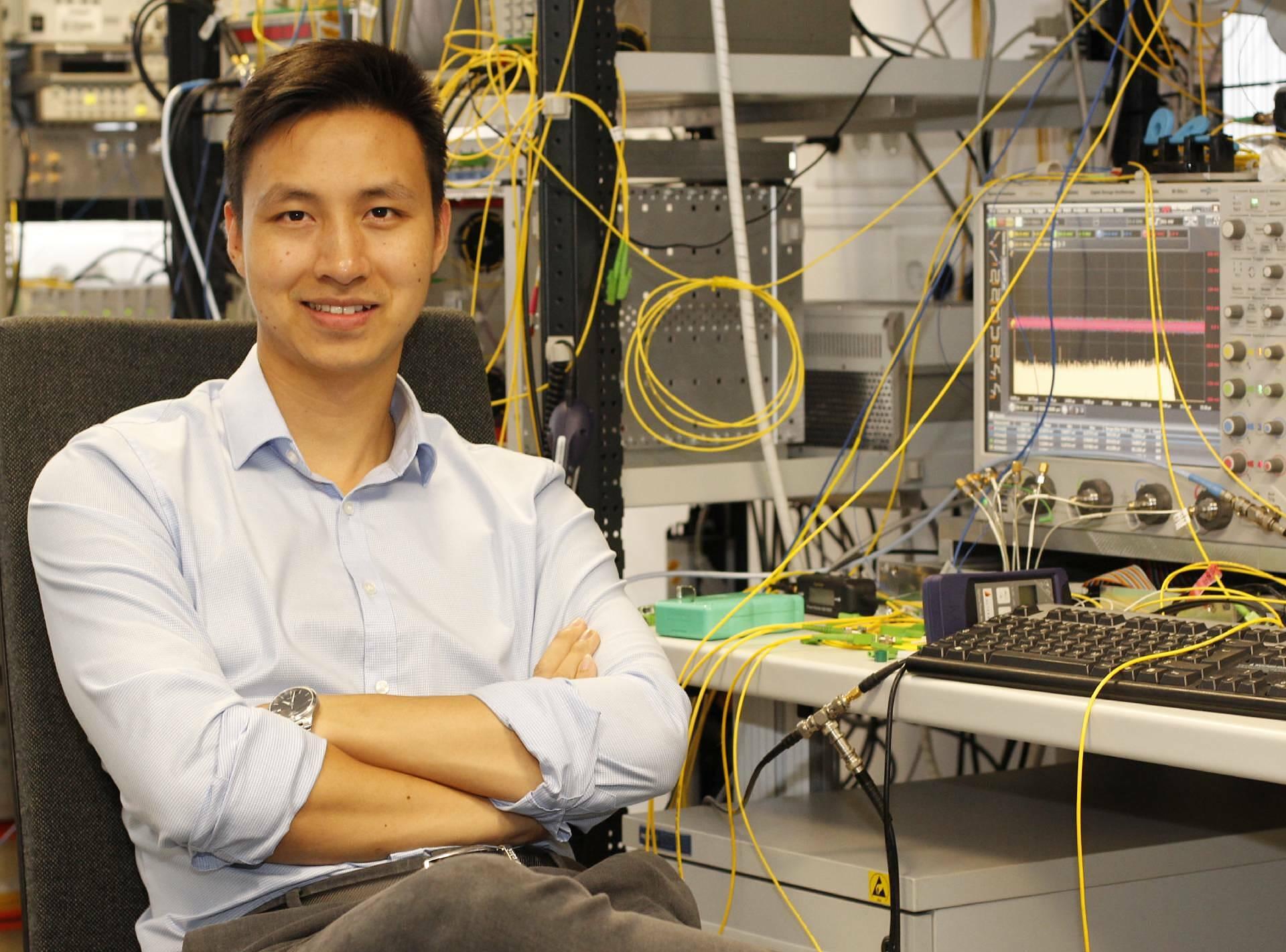 Lê Thái Sơn nằm trong danh sách 35 nhà sáng tạo trẻ dưới 35 tuổi trên thế giới năm 2018 do tạp chí MIT Technology Review (Mỹ) bình chọn. Ảnh: NVCC