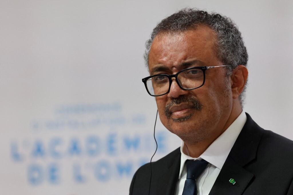 Tổng Giám đốc WHO Tedros trong một sự kiện ở Lyon, Pháp, hôm 27/9. Ảnh: AFP.