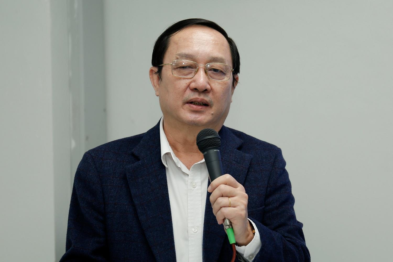 Bộ trưởng Bộ KH&CN Huỳnh Thành Đạt phát biểu tại kỳ họp hội đồng lần thứ 5 Vkist. Ảnh: Nguyễn Nam