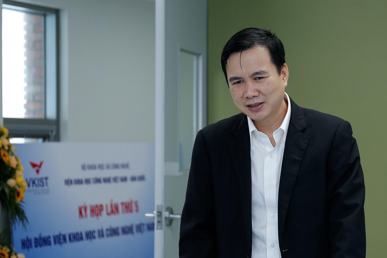 Thứ trưởng Bộ KH&CN Bùi Thế Duy. Ảnh: Nguyễn Nam